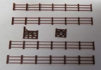 N Scale 3 Rail Fencing & Gates